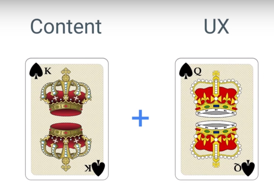 Content-is-king-UX-is-Queen